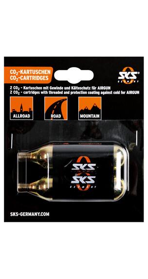 SKS CO2-Patron Set till SKS luftpistol CO2, 2st